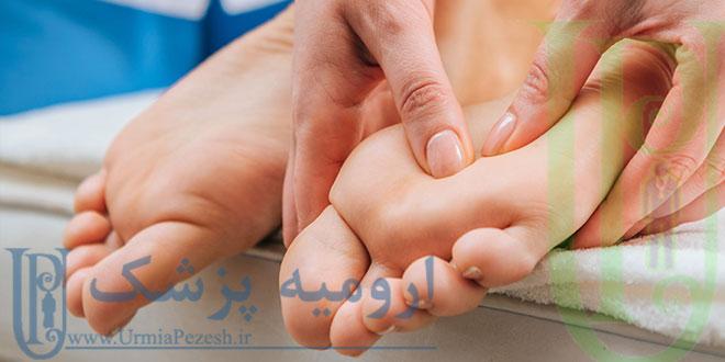 ماساژ کف پا در ارومیه